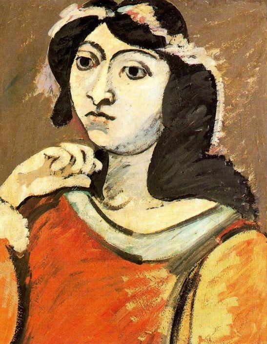 Retrato de Ahko, 1937