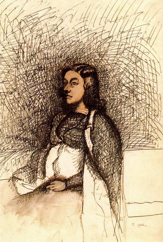 Retrato de la mujer del artista