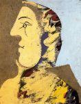 S.T., Cabeza de Mujer, Perfil, 1934