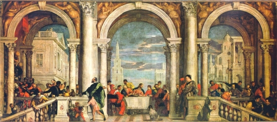 """La Fiesta en la Casa de Levi"" (1573)"