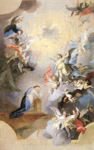 Annunciation, study, 1794