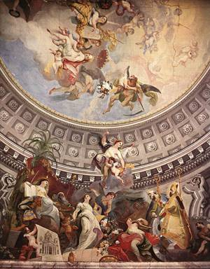 Ceiling decoration, 1782