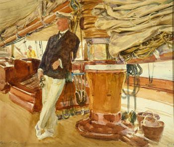 commodore-sears-aboard-the-yacht-constellation-1924