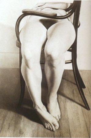 Desnudo en mecedora, 1973