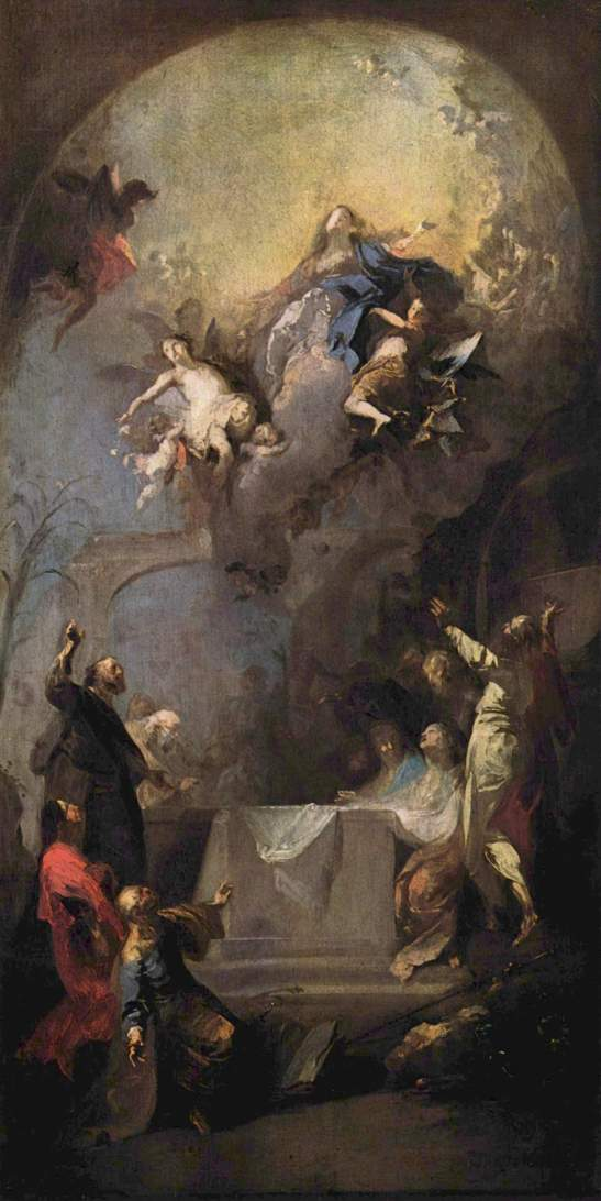 Himmelfahrt Maria, 1762