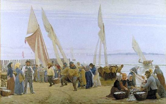 Mañana en hornbaek, 1875