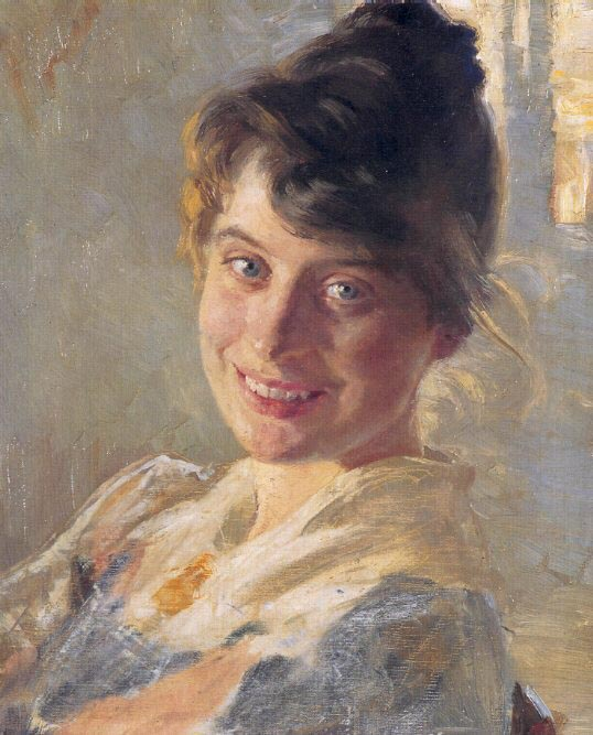 Marie Kroyer, 1890