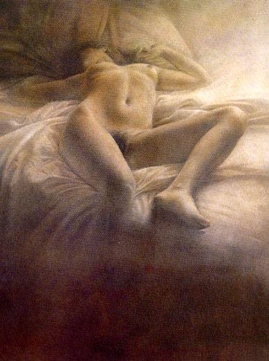 Mujer acostada No 3, 1980