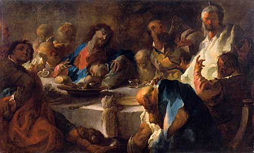 La última Cena, 1754