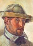 Autorretrato, 1924