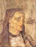 Cabeza de mujer, 1919