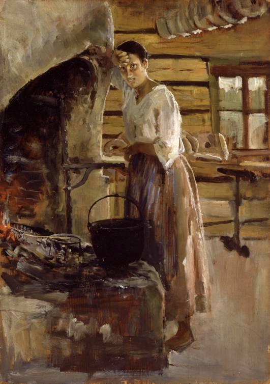 mujer-asando-pescado-1886