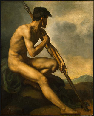 nude-warrior-with-a-spear-1816