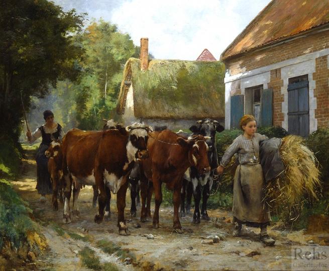 la-rentree-au-village-1895
