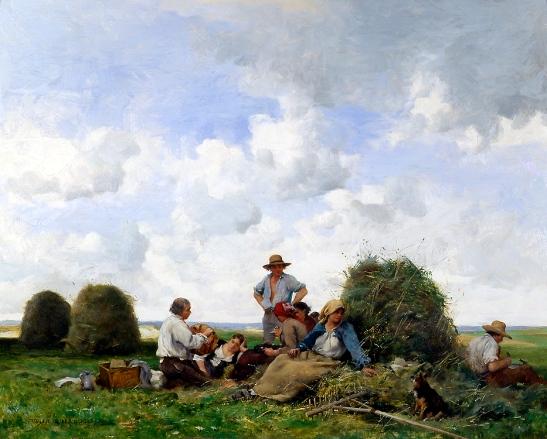 le-repos-dans-les-champs-1887