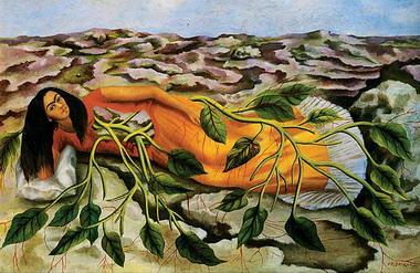 raices, frida kahlo
