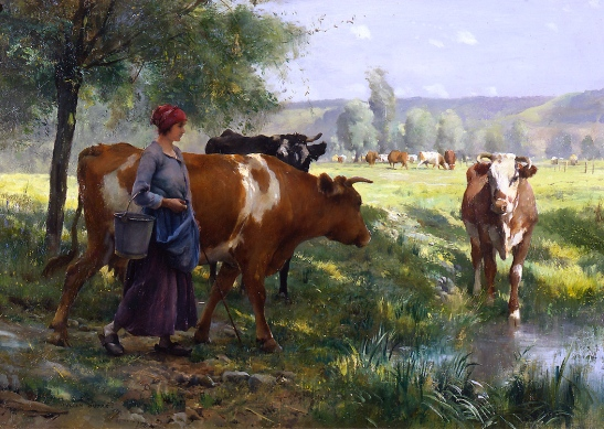 the-young-milkmaid