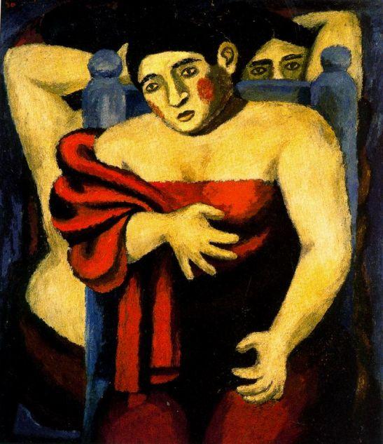 Bañistas, 1930
