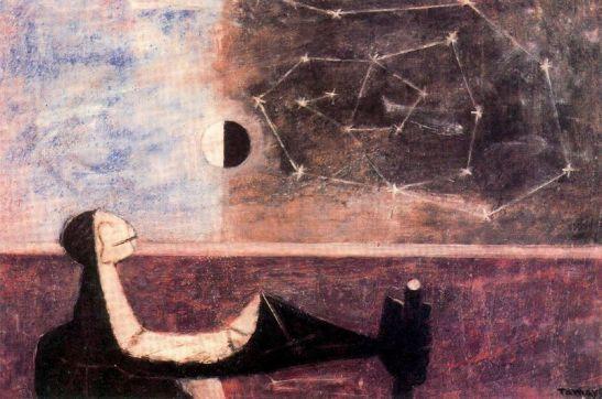 El hombre ante el infinito, 1950