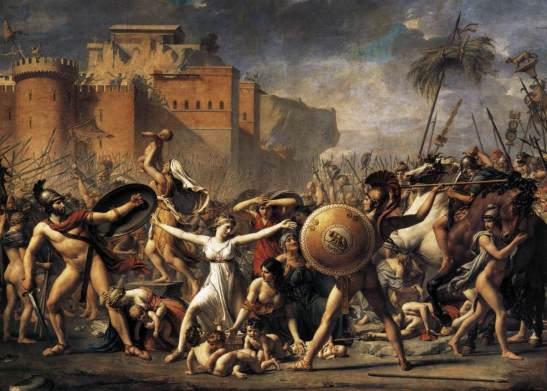 El rapto de las sabinas, 1799