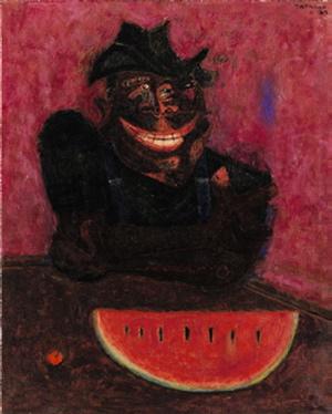 el comedor de sandias, rufino tamayo