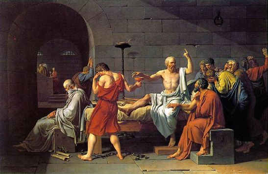 La muerte de Socrates, 1787