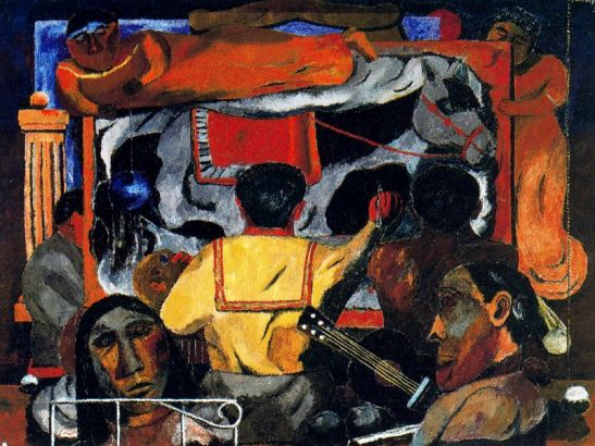 Las musas de la pintura, 1932