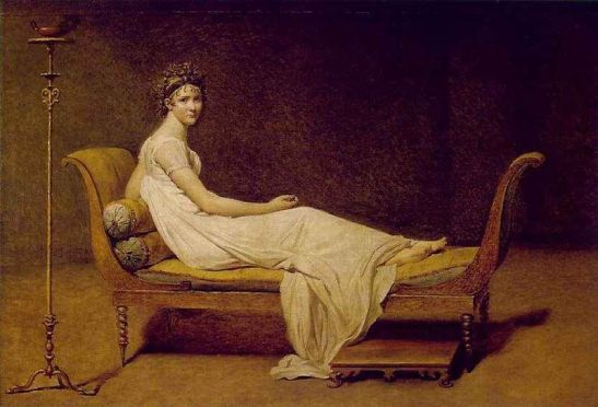 Madame Recamier, 1800