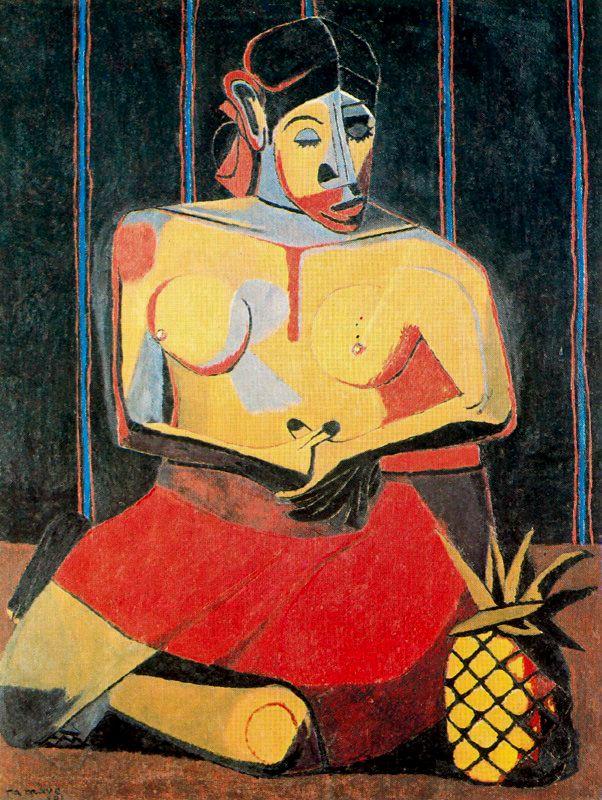 Mujer con piña, 1941