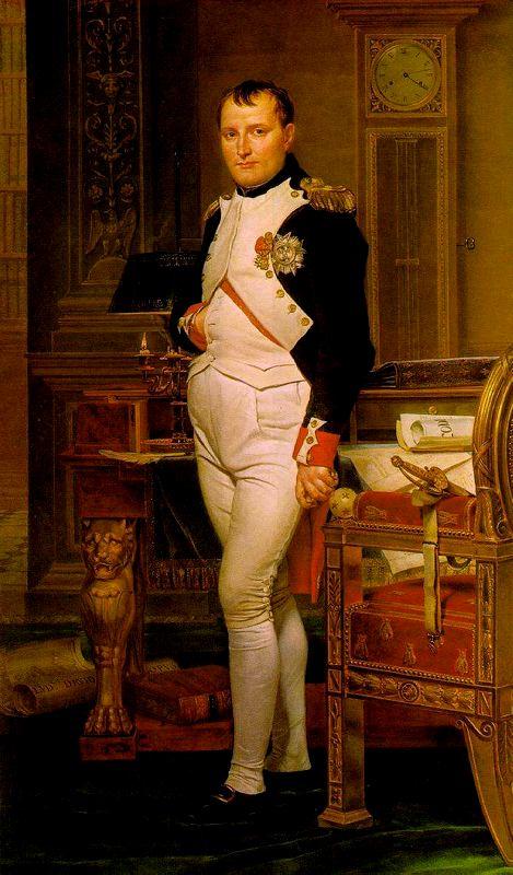 Napoleon en su Estudio, 1812