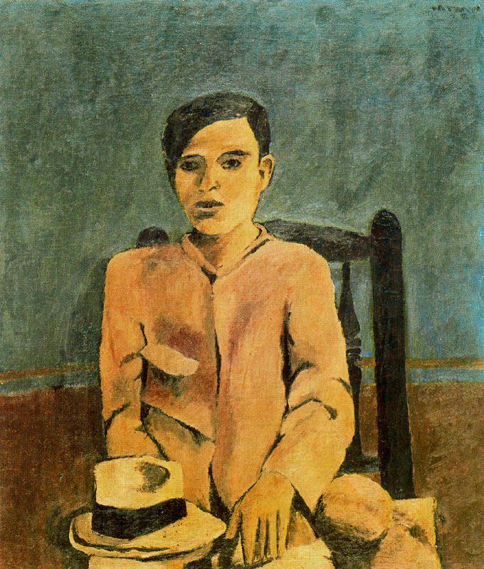 Niño en azul, 1928