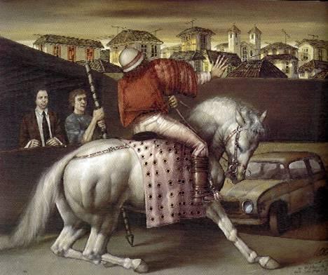 San Jorge y el renault, 1994