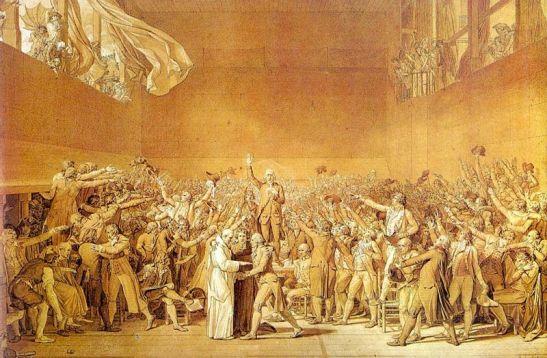 Serment du jeu de paume, 1791