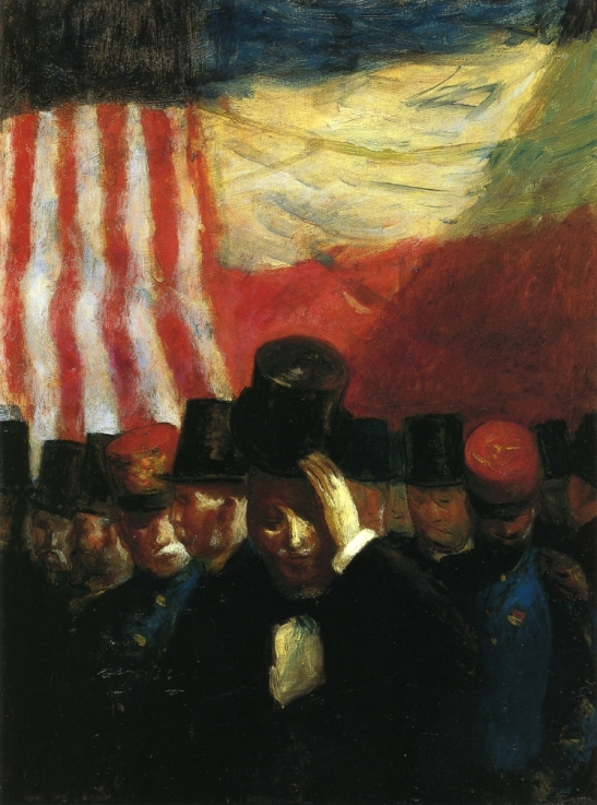 The reception, 1916