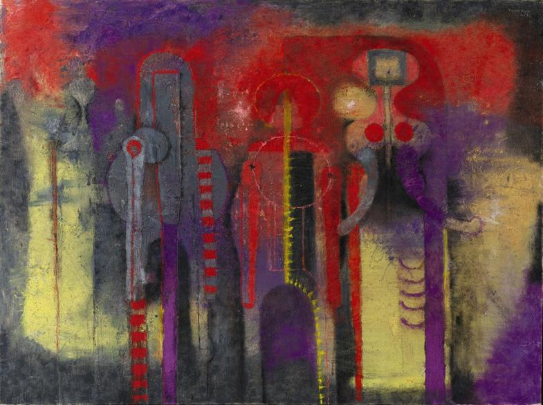 Tres personajes, 1970