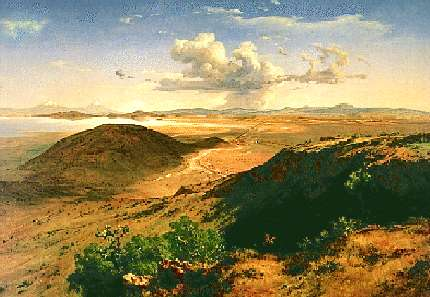 valle de mexico, 1877, jose maria velasco