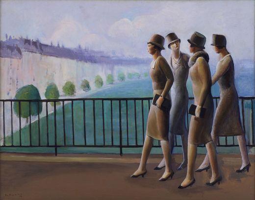 Americans in Paris, 1927