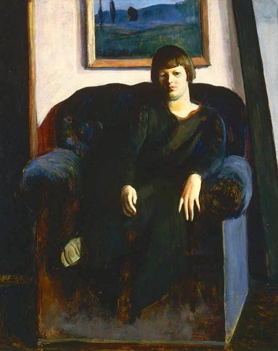 Blue armchair, 1923