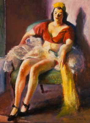 Dancer resting, 1937