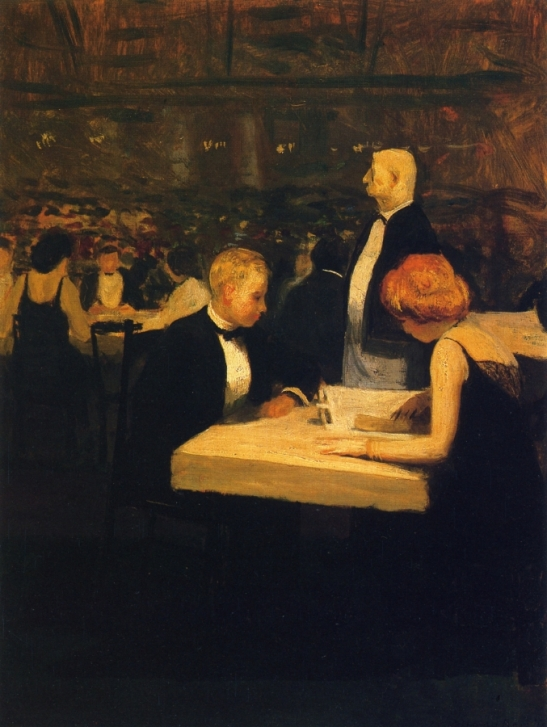 Dining out, 1919