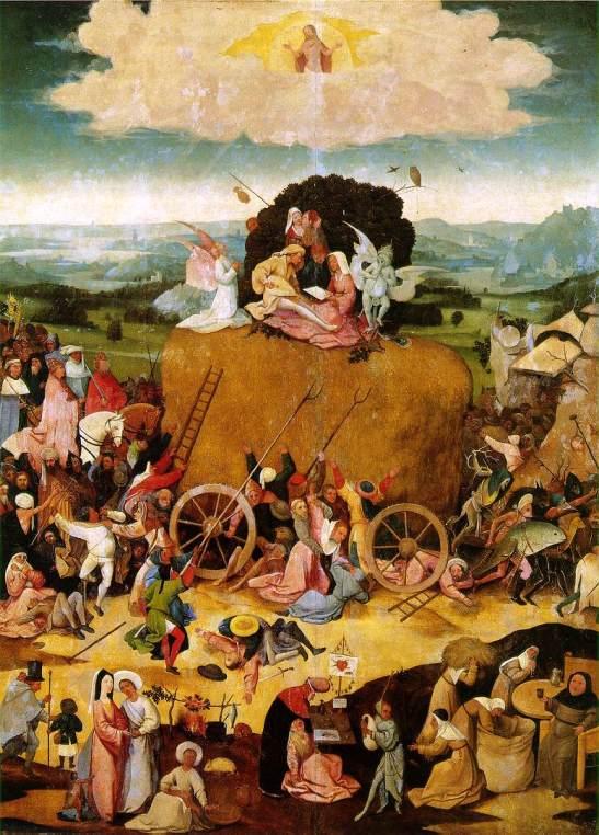 El carro de heno, 1500-02