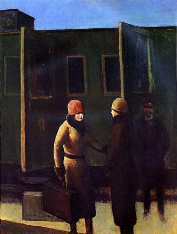 Paris railroad station, 1925