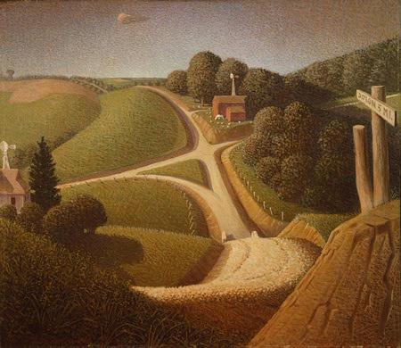 Obra de Grant Wood