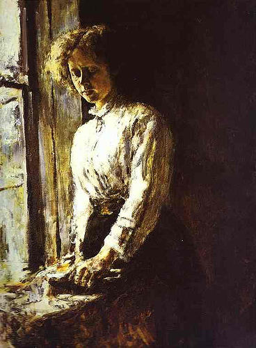by-the-window-portrait-of-olga-trubnikova-1886