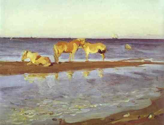 horses-on-a-shore-1905