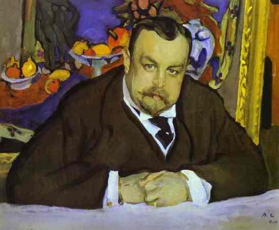 portrait-of-ivan-morozov, 1911