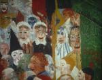 "Entrada de Cristo en Bruselas"" Detalle"