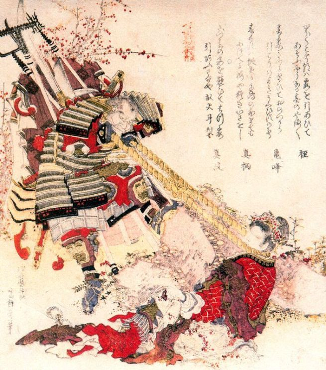 Benkei and Chinese princess, 1820