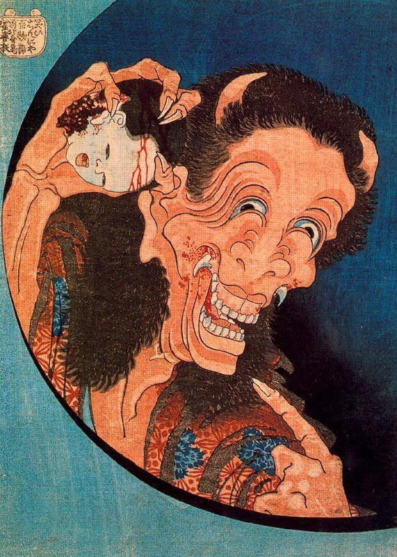 Demone della gelosia ghigante, 1831