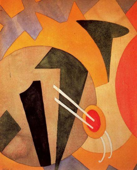 Abstracción, 1917